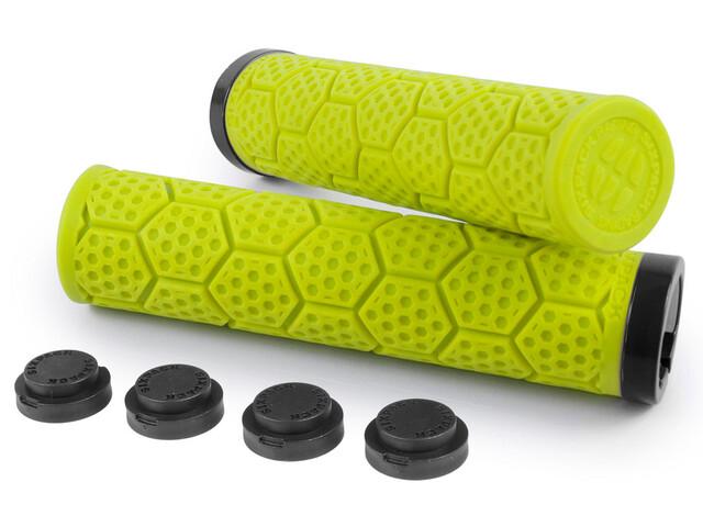 Sixpack D-Trix Griffe neon gelb/schwarz